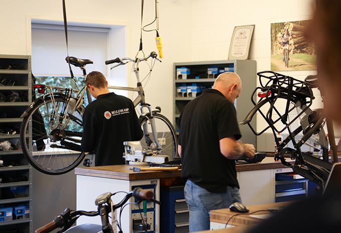 Werkplaats  Meulenkamp tweewielers