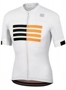 Sportful Wire shirt korte mouw wit voorkant