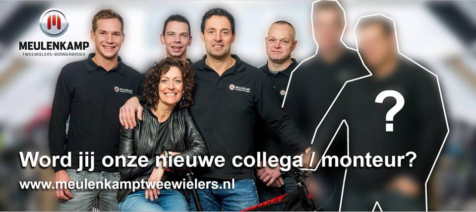 Word jij onze nieuwe collega bij Meulenkamp Tweewielers